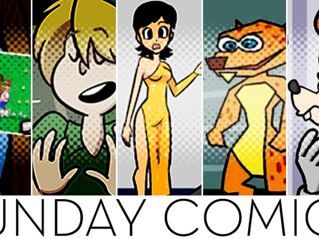 Quadrinhos de Domingo: Multidão Rude