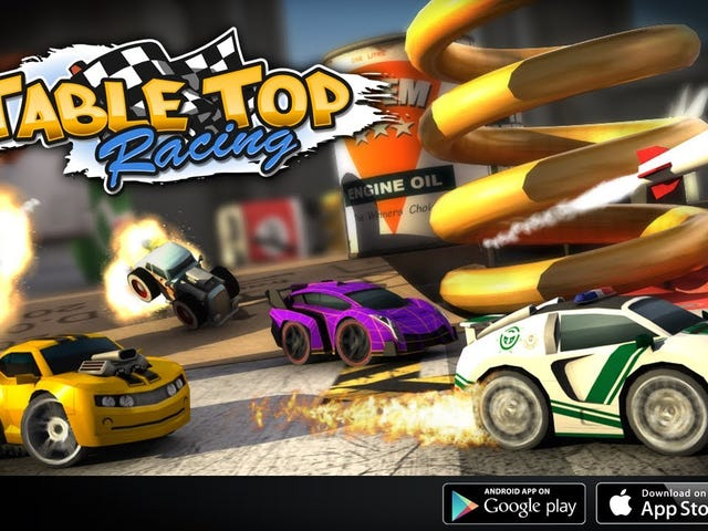 Today's Best App Deals: Table Top Racing, Business Card Reader, and More