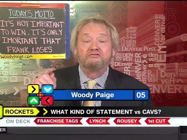 Woody Paige sieht großartig aus wie üblich