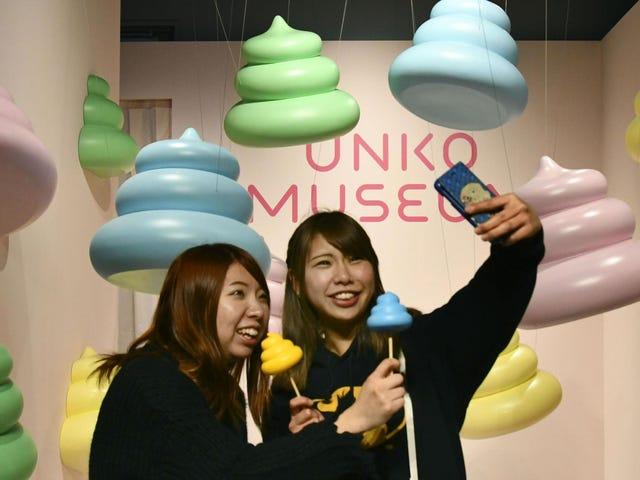 Bảo tàng Poop mới của Nhật Bản, gây sốc, trông như địa ngục