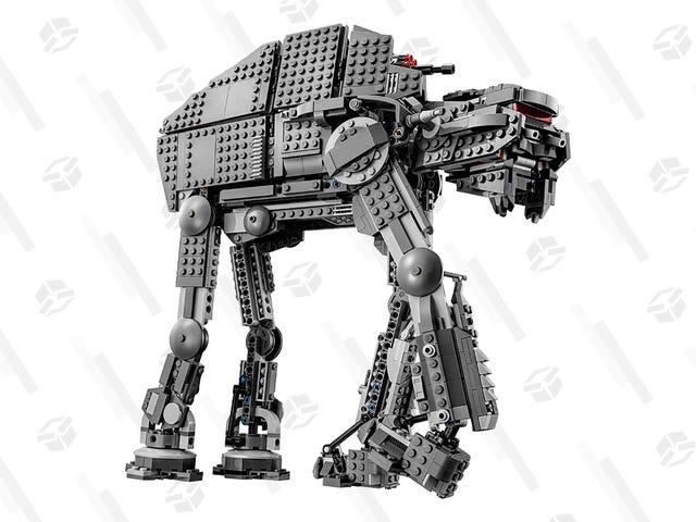 Reconstrua a Batalha de Crait com este conjunto de Lego com desconto
