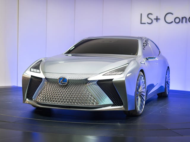The Lexus LS+ Concept Is Built To Drive Itself In A City