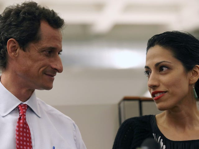 Huma Abedin Reportedly Opens the Door for Dick Pic Enthusiast Anthony Weiner