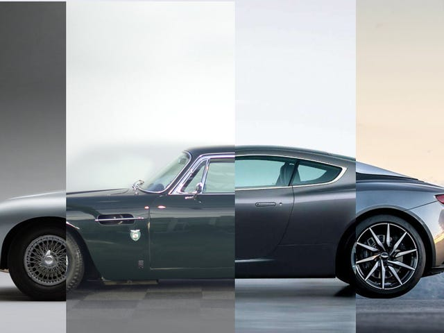 How The New Aston Martin DB11's Design Compares To Astons Of The Past