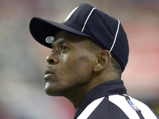 NFL Ref Carl Johnson's Domestic-Violence Accuser Has Now Been Charged