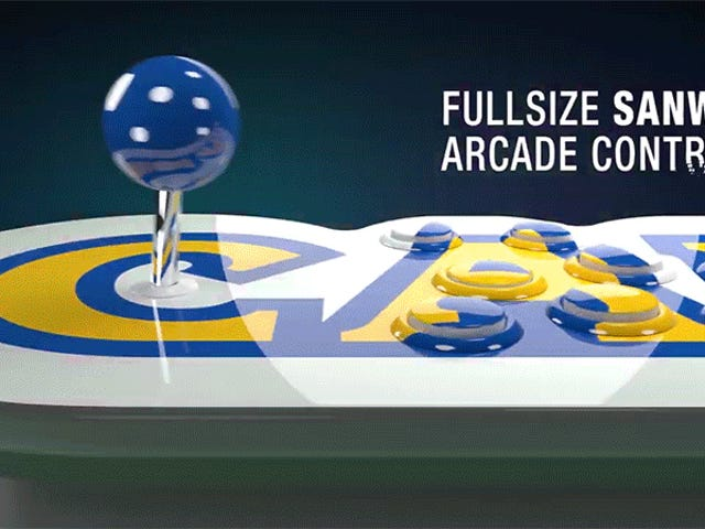 Playing Capcom's New Game Packed Arcade Stick With a Friend Is Going to Be Awkwardly Intimate