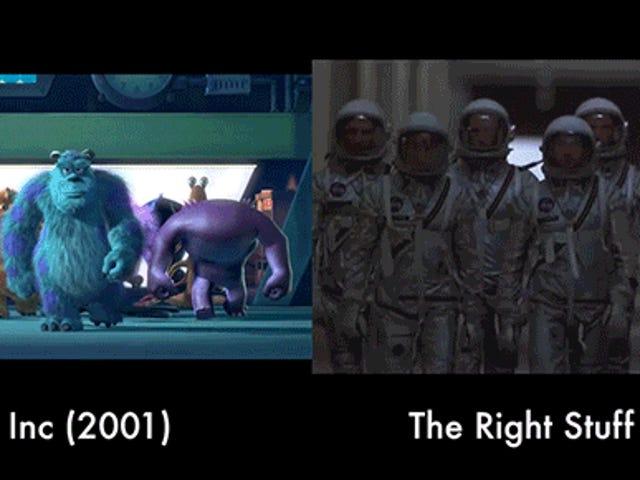 Jak Pixar kopiuje sceny z innych filmów