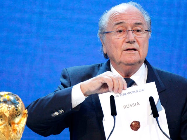The Spy Who Compiled The Golden Showers Dossier Helped Bring Down Sepp Blatter