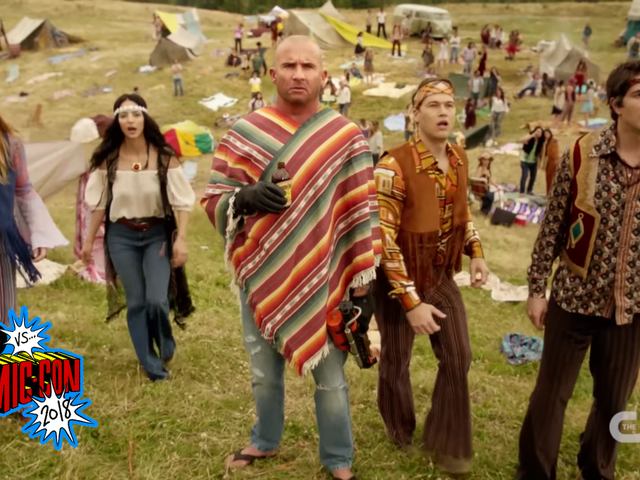 DC's Legends of TomorrowAdds New Regulars and Looks Hell-a Good in the First Season 4 Trailer