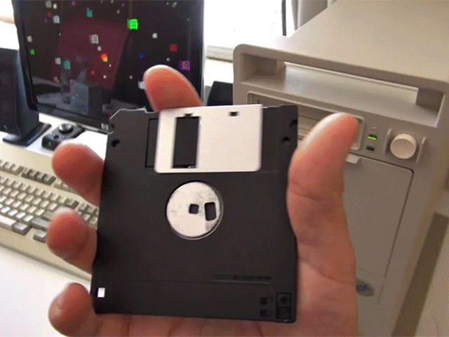 Cách tạo ổ đĩa mềm 118 Gigabyte