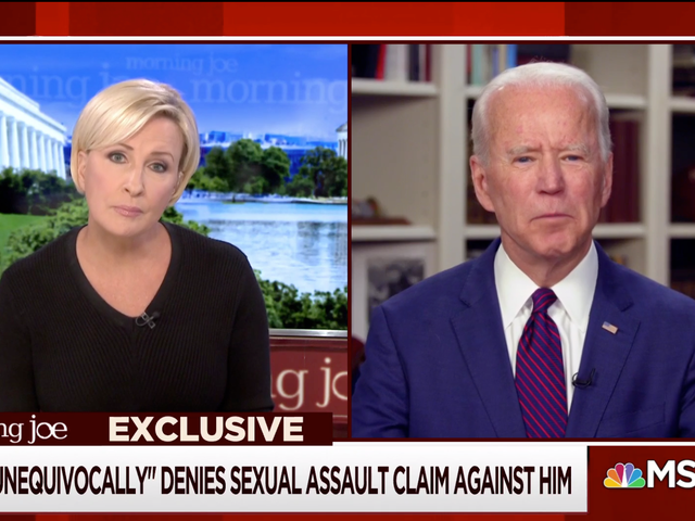 Biden Just Wants You To Take His Word For It