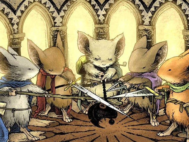The Mouse Guard Adaptation Has Its Stars: Andy Serkis and Thomas Brodie-Sangster