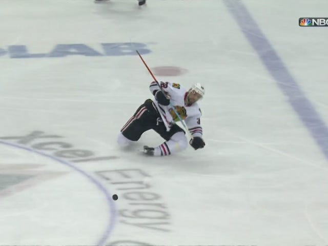 Michal Rozsival Leaves Game After Twisting Ankle Backward