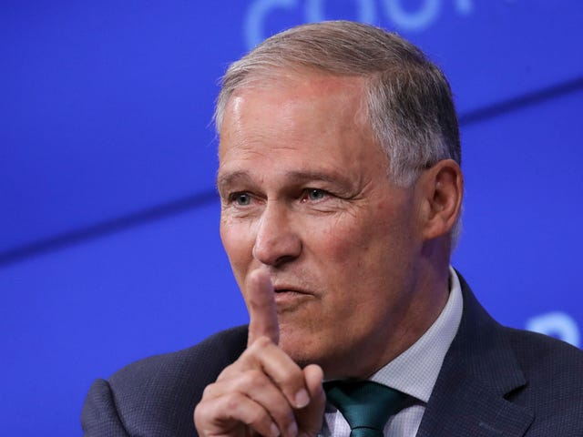 Jay Inslee's Latest Climate Plan Would Be the Beginning of the End For Fossil Fuels