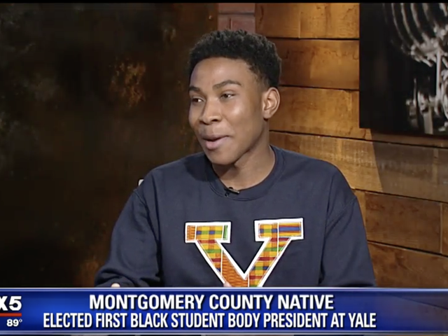 1st Ever Black Student Body President Elected at Yale University