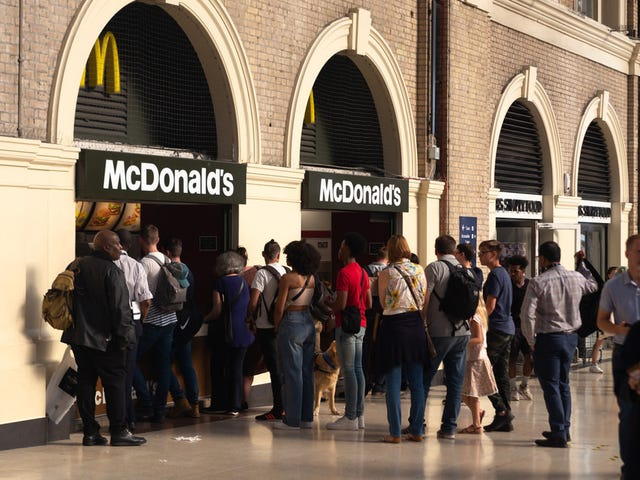 You'll have to hop the pond if you want an all-vegan McDonald's meal