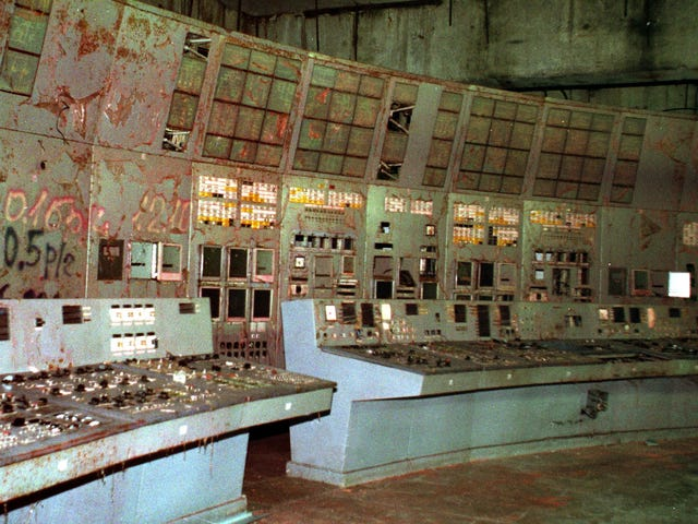 Tjernobyls beryktade kontrollrum 4-kontrollrum är nu öppet för turister
