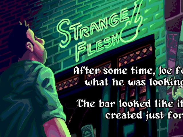 Strange Flesh is als Streets Of Rage met veel meer seks