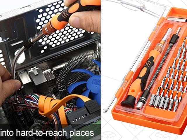 Unlock Your Electronics With This $11 Precision Screwdriver Kit