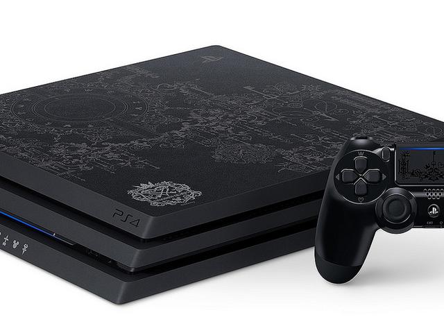 Sony aprovecha la llegada de Kingdom Hearts 3 para lanzar una preciosa edición especial de la PS4 Pro