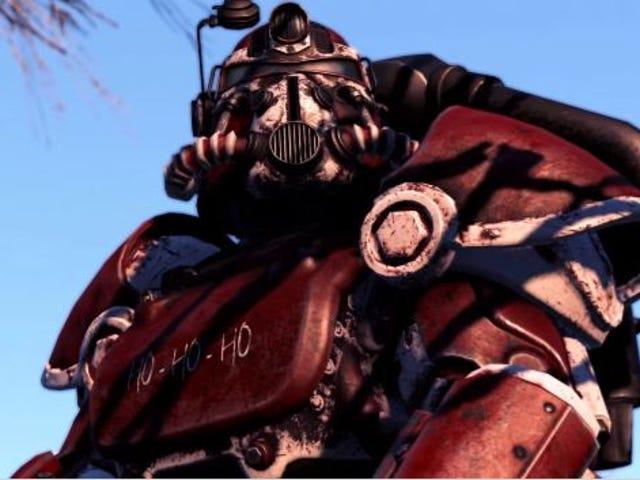 <i>Fallout 4</i> Άγιος Βασίλης είναι ένα πραγματικό θαύμα διακοπών