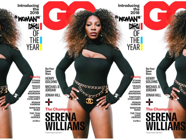 Design Flaw: Serena Williams' GQ Cover Deserved Better Than Virgil Abloh