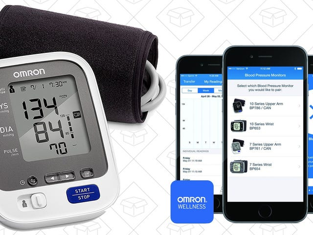 Blood Pressure Running High Lately? Monitor It On Your Phone For $41