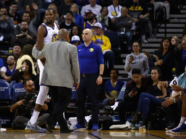 "Kevin Durant Says He Got Ejected Because Ref Had An ""Attitude"" And Was ""In His Feelings"""
