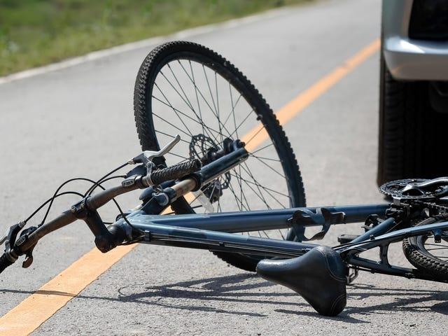 Исследование: 90% несчастных случаев на велосипедах, которые можно предотвратить, покупая автомобиль, как обычный человек <em></em>