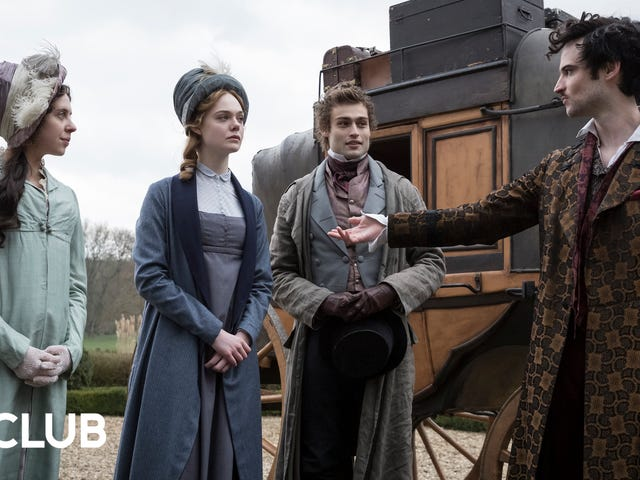 Elle Fanning and the cast of Mary Shelley didn't know much about the author before reading the script