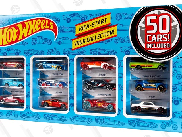 50 Cars for $30 Sounds Like the Beginning of a Weird Word Problem, But It's Actually Just a Deal on a Hot Wheels Set