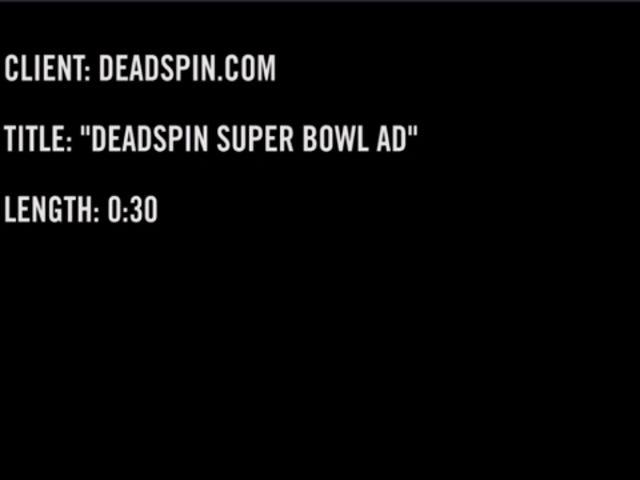 Sieh dir die Deadspin Super Bowl-Werbung an, die fürs Fernsehen zu heiß war!  (NSFW!)