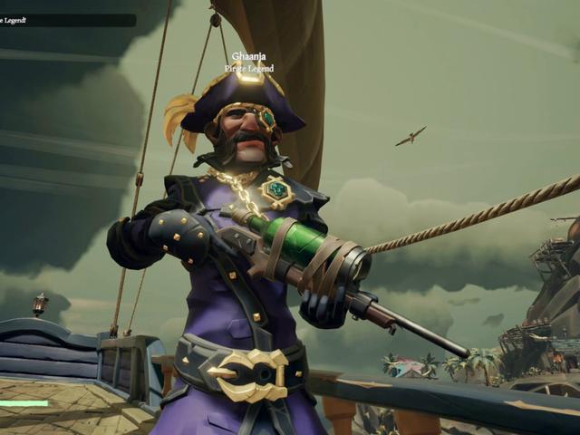 I Met A Genuine Pirate Legend In <i>Sea Of Thieves</i>