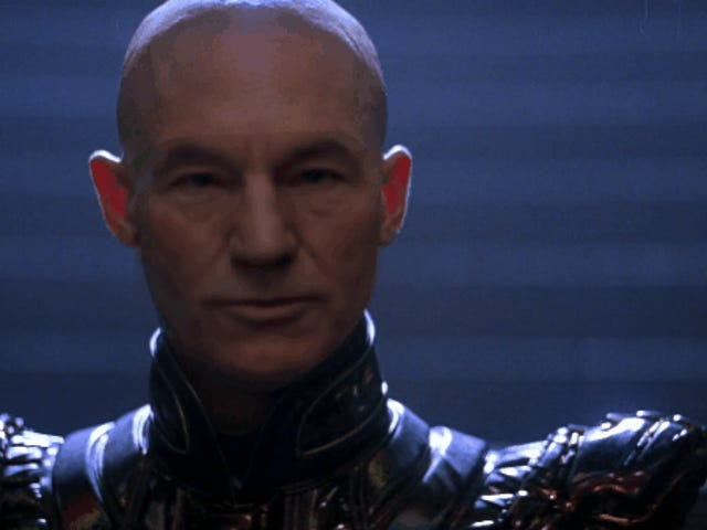 What If Captain Picard's Star Trek: Nemesis Clone Was Just Patrick Stewart, Instead of Bald Baby Tom Hardy?