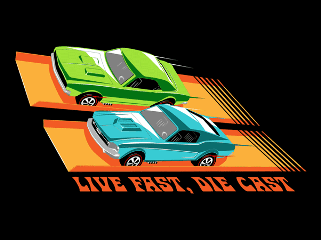 Hot Wheels fans, here's a shirt.