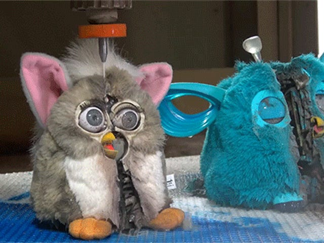 Nightmares Lurk Inside a Furby Connect