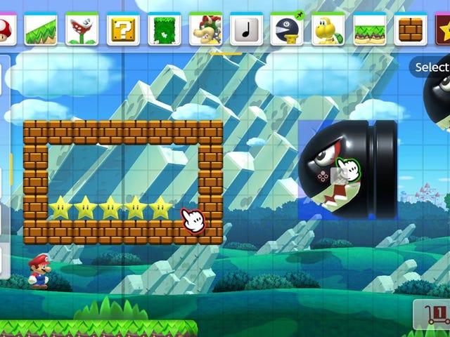 Incluso tus niveles de Mario Maker 2 sin conexión no están seguros de ser eliminados