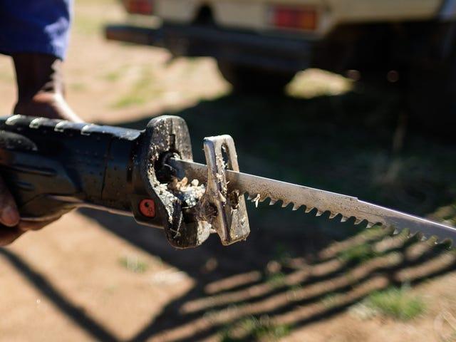 Advertencia: esta es la razón por la que no explotas Zits con una cuchilla para trabajar la madera