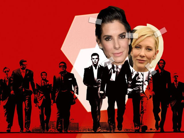 Sandra Bullock Is Starring In an All-Woman Ocean's 11, Cate Blanchett May Join, and I Need To Sit Down