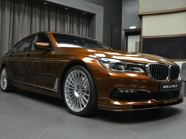 Custom New BMW Alpina B7 Is Offensively Brown And Extremely Pretty