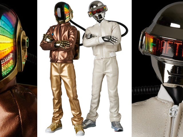 I Must Own These Daft Punk Figures With Light-Up LED Helmets