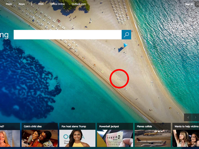 How Long Will It Take Bing to Realize There's a Penis on Its Homepage? [Update: Now We Know]