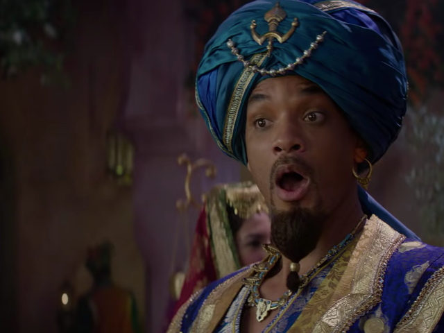 "Will Smith sings ""Prince Ali,"" misclassifies ostriches in new Aladdin clip"