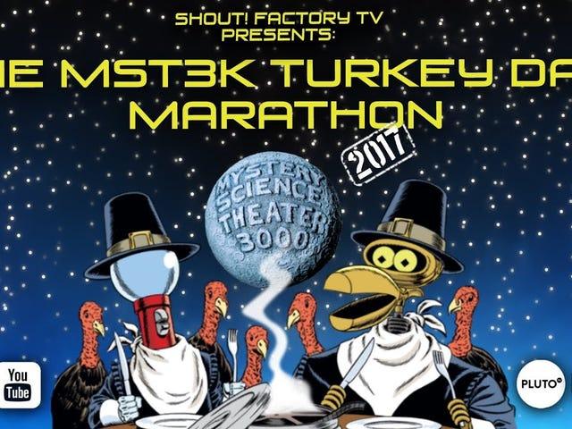 MST3K Ημέρα 2018 της Τουρκίας είναι ζωντανή