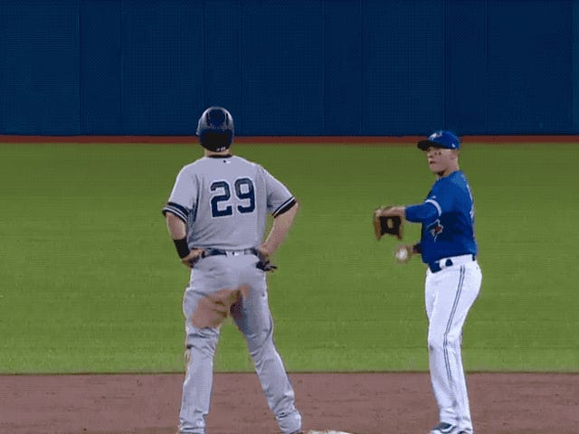 Yankees ägd av Blue Jays Infielder