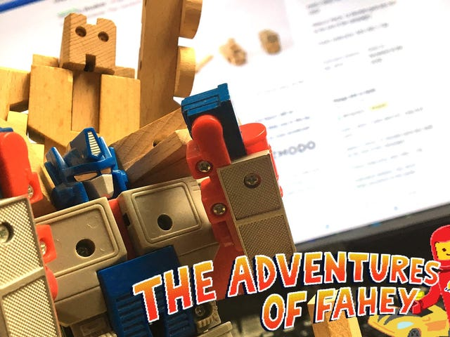 Hands On With Woobots, Robot di legno in Disguise