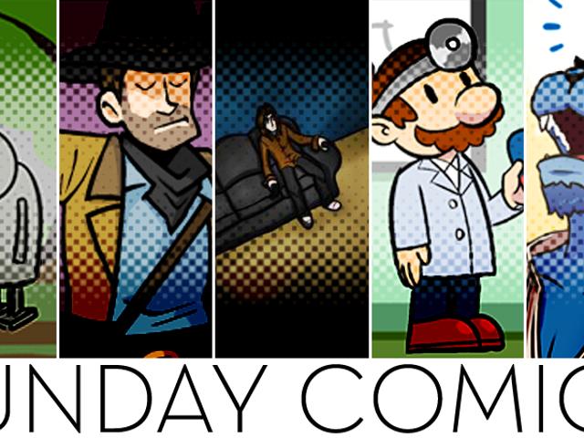 Sunday Comics: My Finger Slipped!