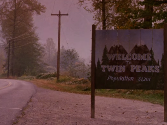 Revisit Twin Peaks with this eerie charcoal map drawn by David Lynch