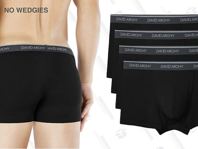 Wrap Yourself In Ultra-Soft Bamboo With These Discounted Trunks