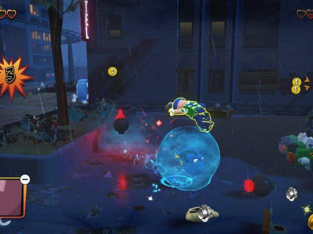 Here Is Pixar's Dory Fighting Crime